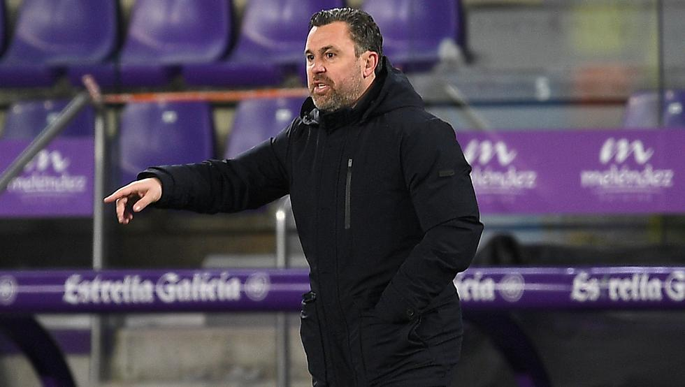 Sergio González, entrenador del Valladolid