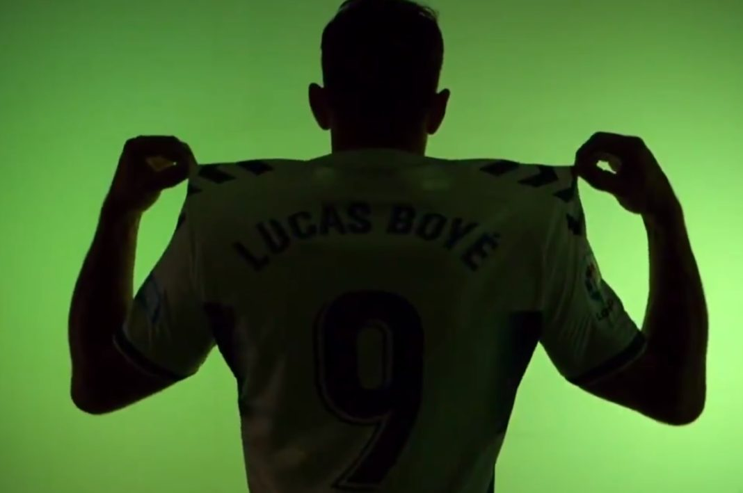 Lucas Boyé, delantero del Elche, en LaLiga World