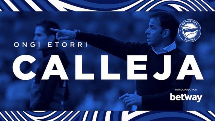 Javi Calleja, nuevo entrenador del Alavés