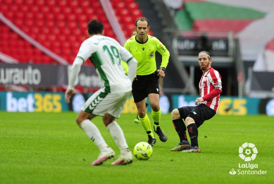 Melero López, en el Athletic-Elche