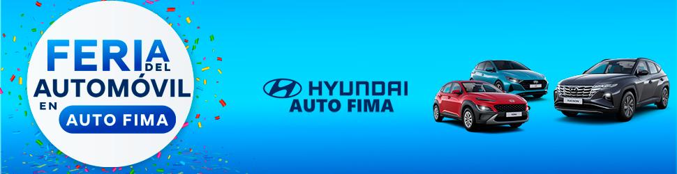 Banner Feria del Automóvil de Auto Fima - Hyundai