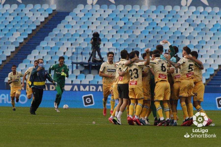 El Espanyol de Óscar Gil celebra su ascenso a Primera