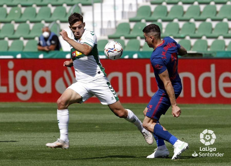 Lucas Boyé en el Elche - Atleti